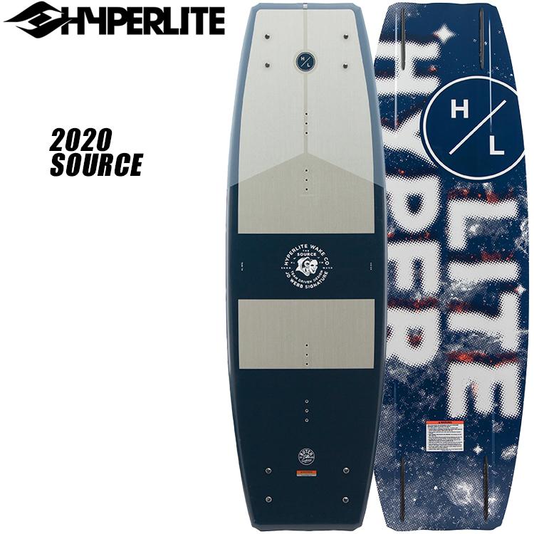 HYPERLITE(ハイパーライト) 2020年モデル SOURCE ソース [139] ウエイクボード【数量限定プレゼント付き!】