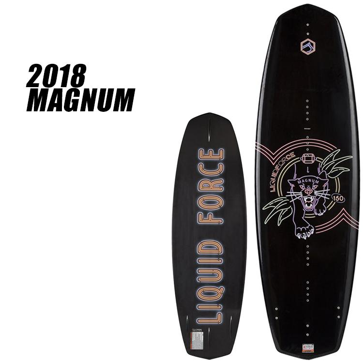 【Liquid Force】2018年モデル MAGNUM マグナム [150]【送料無料】【02P20Sep18】