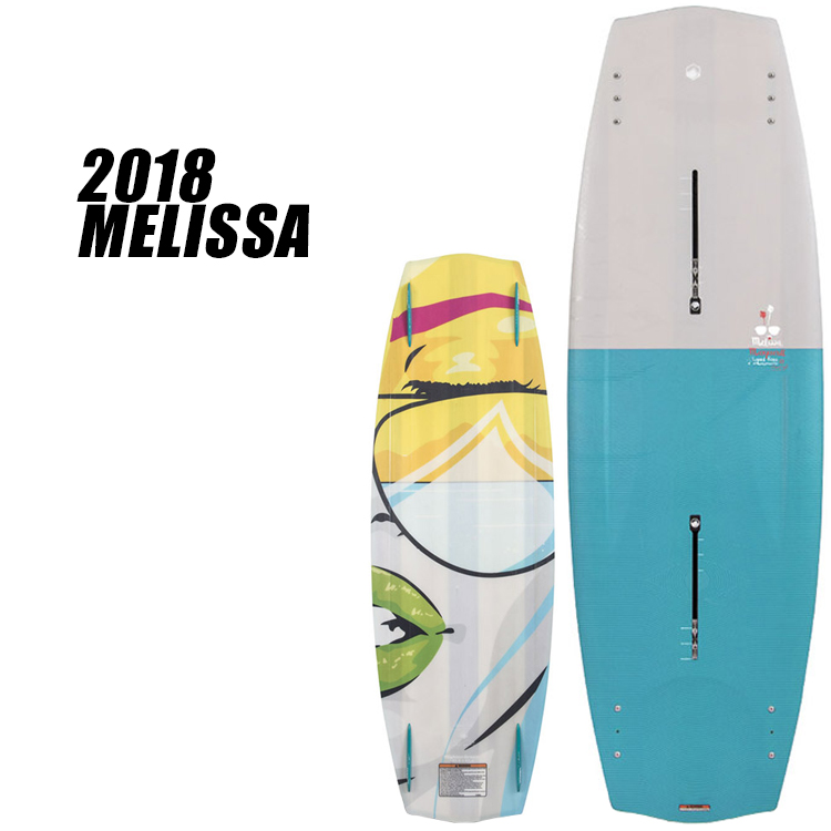【Liquid Force リキッドフォース】2018年モデル MELISSA メリッサ [131]【送料無料】【02P20Sep18】