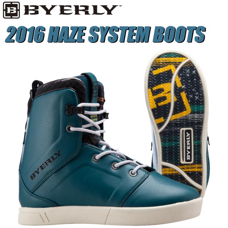 BYERLY バイリー 2016年モデル HAZE System Boots ヘイズ システム ブーツ 【送料無料】【02P08Nov18】