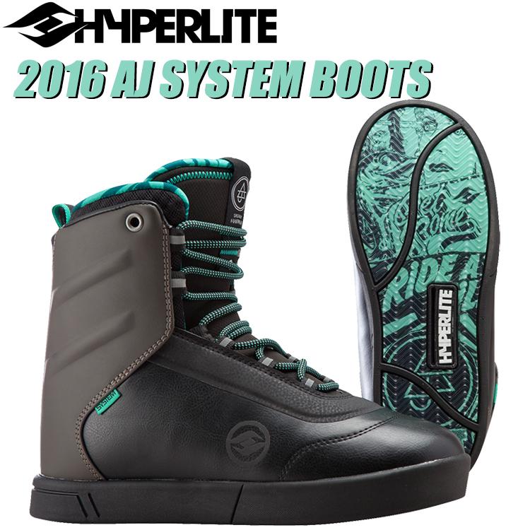HYPERLITE ハイパーライト 2016年モデル AJ Boots エージェー ブーツ (ブラック/スモーク) 【送料無料】【02P08Nov18】