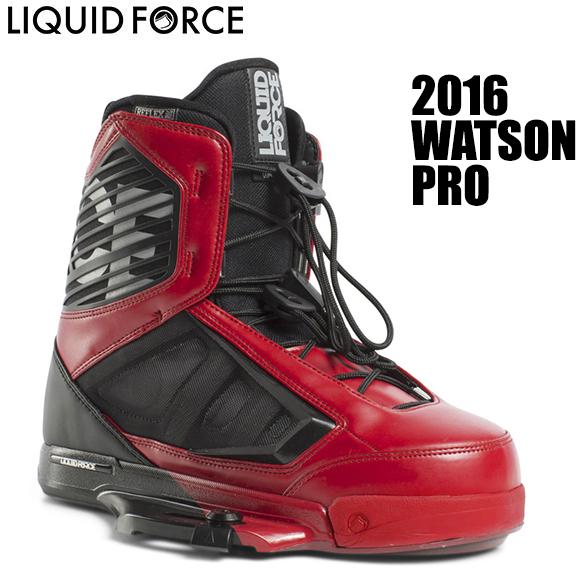 Liquid Force リキッドフォース 2016年モデル WATSON PRO Boots ワトソン ブーツ 【送料無料】【02P16Apr19】