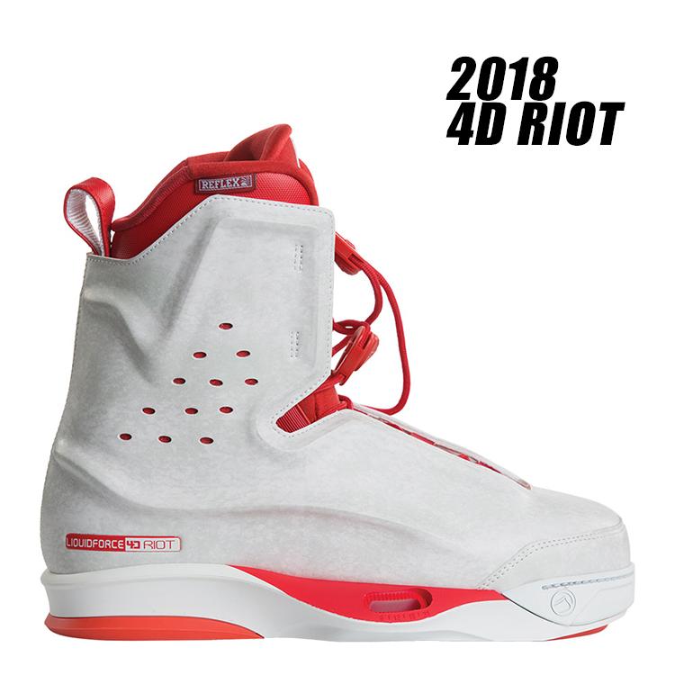 【Liquid Force リキッドフォース】2018年モデル 4D RIOT ブーツ【送料無料】【02P20Sep18】