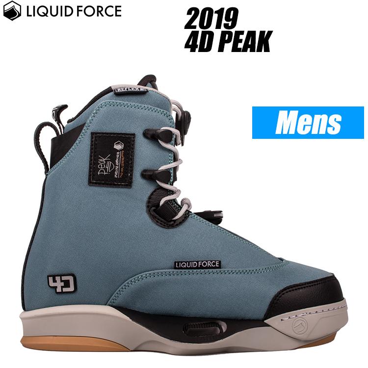 [ Liquid Force ] リキッドフォース 2019年モデル 4D PEAK 4Dピーク ウェイクボード用ブーツ