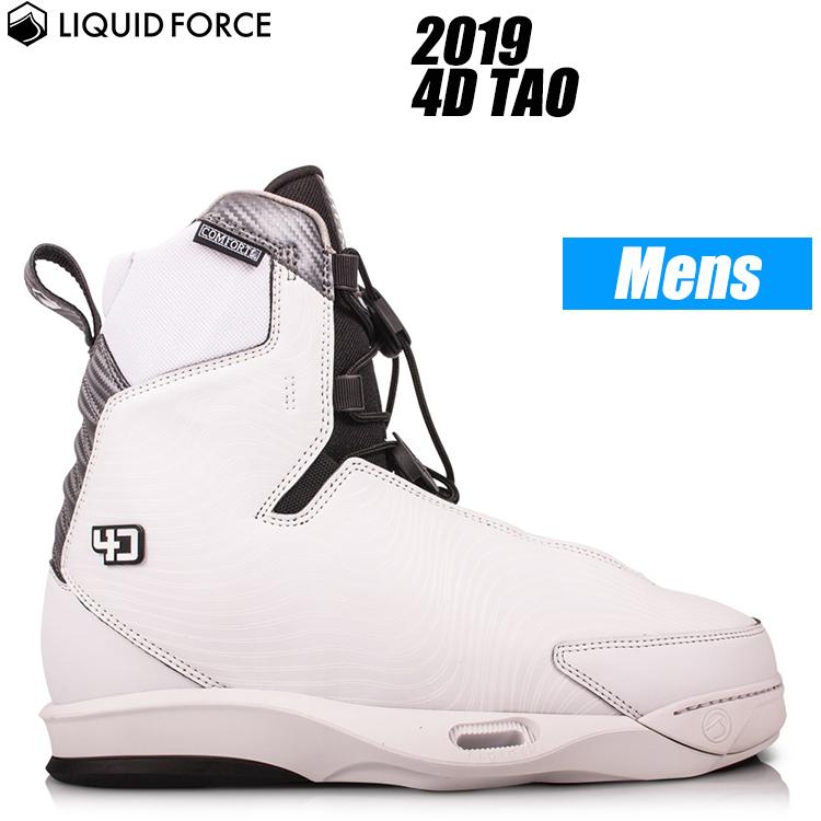 【Liquid Force リキッドフォース】2019年モデル 4D TAO ウェイクボード用ブーツ【送料無料】【02P20Sep18】