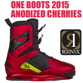 RONIX ロニックス 2015年モデル ONE Boots Anodized Cherries ワン ブーツ 初回限定カラー 【送料無料】【02P08Nov18】