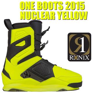 RONIX ロニックス 2015年モデル ONE Boots Nuclear Yellow ワン ブーツ 初回限定カラー 【送料無料】【02P20Sep19】