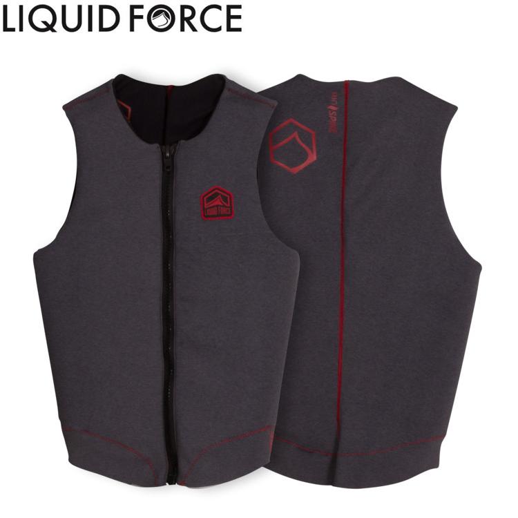 Liquid Force(リキッドフォース) 2017年モデル ENIGMA COMP エニグマ COMP メンズベスト 【GREY】【02P08Nov18】