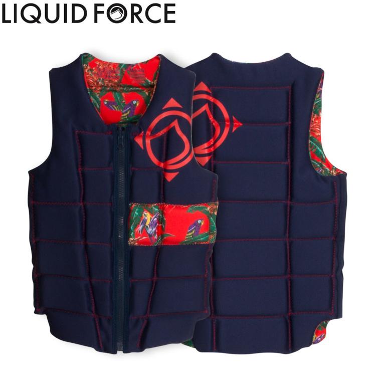 【Liquid Force リキッドフォース】 2017年モデル MELODY COMP VEST メロディーCOMPベスト [トロピカル] 【02P06Jan18】