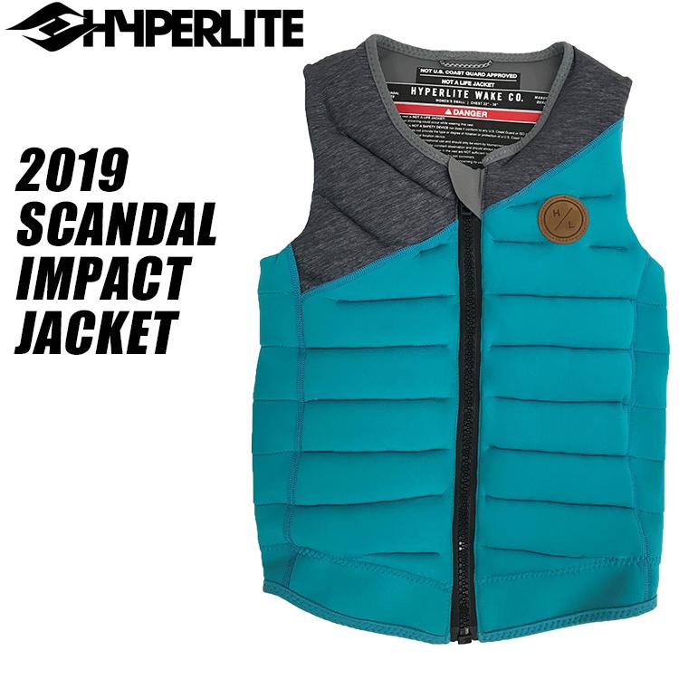 【HYPERLITE ハイパーライト】2019年モデル SCANDAL IMPACT JACKET スキャンダル ウィメンズ インパクトジャケット [ミント]【02P20Sep19】
