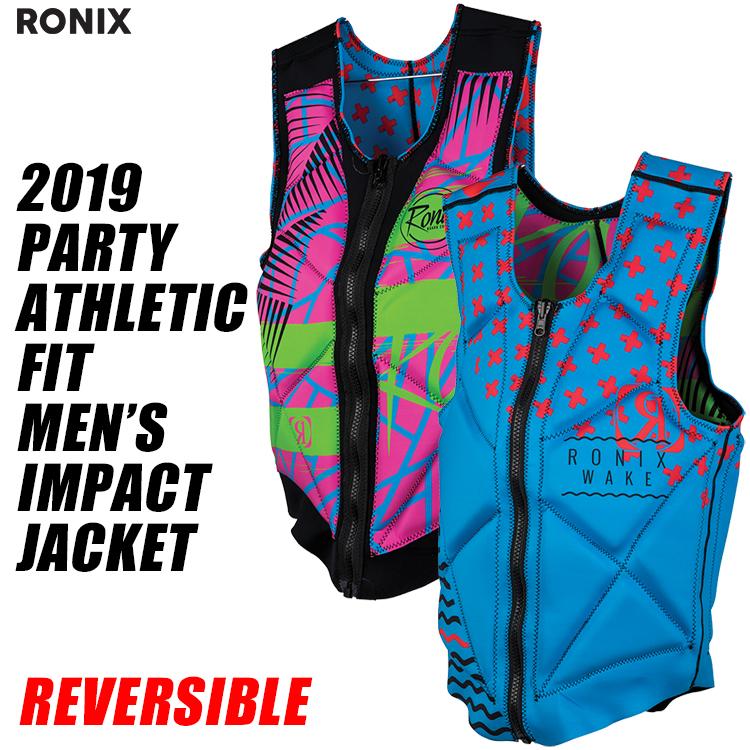 【RONIX ロニックス】2019年モデル PARTY ATHLETIC FIT IMPACT JACKET パーティー アスレチック フィット インパクトジャケット 【送料無料】 【02P24May19】