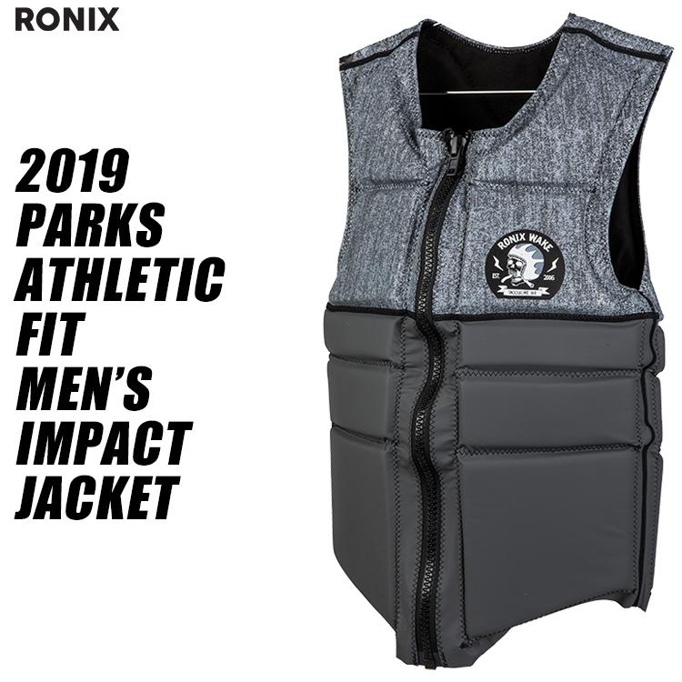 【RONIX ロニックス】2019年モデル PARKS ATHLETIC FIT IMPACT SHIRT パークス アスレチック フィット インパクトシャツ 【送料無料】