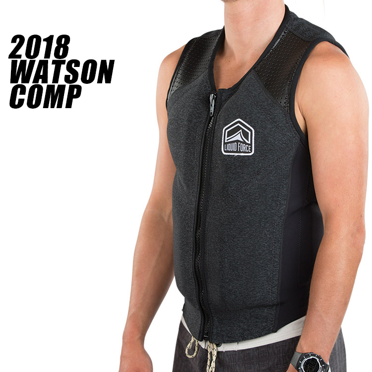 【Liquid Force リキッドフォース】2018年モデル WATSON COMP VEST ワトソンCOMPベスト [ブラック]【送料無料】 【02P20Sep19】