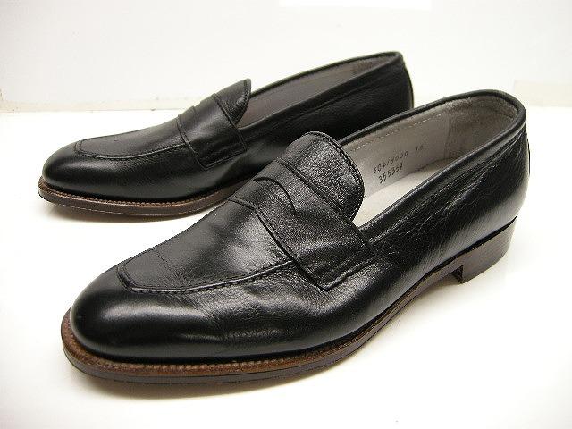 【訳あり】Alden/オールデン/#355357/カーフ シボ革ローファーシューズ/roafer shoes/男性用/メンズ/ビジネスシューズ【ブラック/黒/BLACK】【サイズUS 8E(26-26.5cm)】【アウトレット】