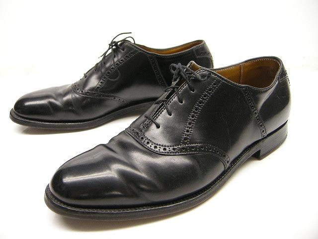 【中古/USED品】Alden/オールデン/#993/シェルコードバンサドルシューズ/shell cordovan sadle shoes/男性用/メンズ【ブラック/黒】【サイズUS 10C(27-27.5cm)】
