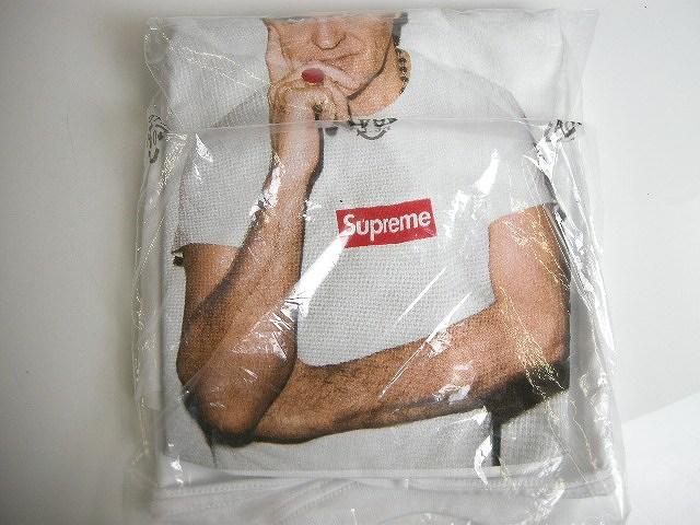 Supreme/シュプリーム/2016S/S Morrissey/モリッシー/Tee/Tシャツ/フォトT/ホワイト/白/WHITE【サイズM/メンズ/2016SS/16SS/春夏】【難あり】
