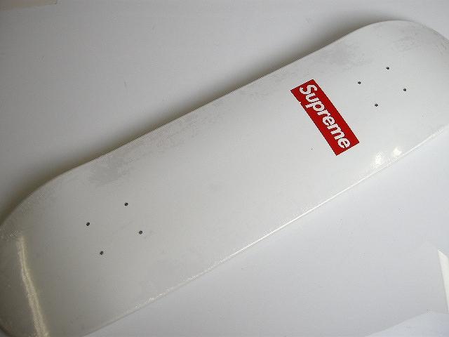 Supreme/シュプリーム/box logo 20th/20周年限定 skateboard/スケートボードデッキ/DECK/スケボー/ホワイト白【2014SS/14SS/春夏/ボックスロゴ】