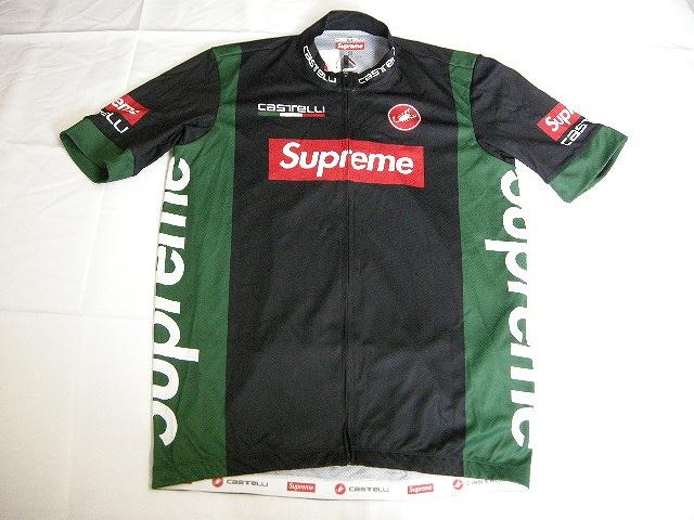 2019SS Supreme/シュプリーム/Castelli Cycling Jersey/カステリ サイクリング ジャージー/自転車ユニフォーム/19SS/春夏/ブラック/サイズM/BOX LOGO/ボックスロゴ
