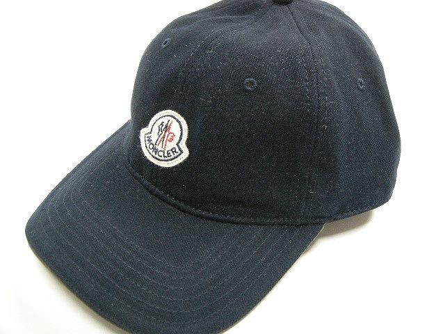 【送料無料】【MONCLER/モンクレール/ロゴ付きBBキャップ/CAP/帽子】【2019SS/春夏/759/ダークネイビー系】【サイズFREE/メンズ/レディース】【00212-00-0212C】