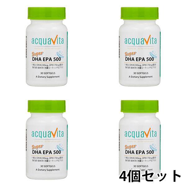 aquavita(アクアヴィータ) スーパーDHAEPA500 (24個セット)【宅配便対応】