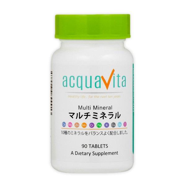 [aquavita(アクアヴィータ) マルチミネラル (24個セット)][宅配便対応]