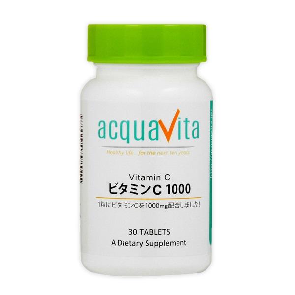 [aquavita(アクアヴィータ) ビタミンC1000 (24個セット)][宅配便対応]