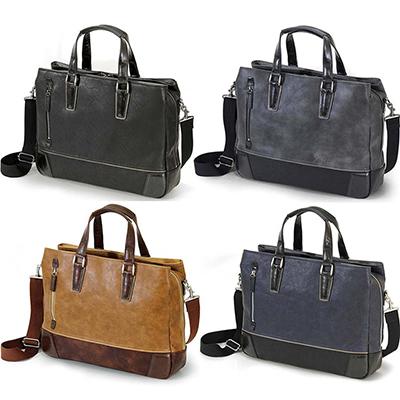 [バジェックス グレート](カラー:ブラック/グレー/キャメル/ネイビーブルー)(ビジネスバッグ メンズ 通勤バッグ 大容量 ビジネスカバン メンズ 鞄 メンズ バッグ トート ビジネス タブレット対応 )[宅配便 対応商品][送料無料]