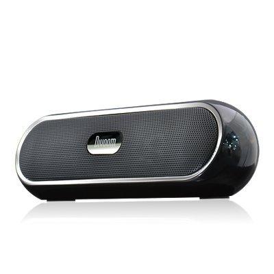 Divoom バッテリー搭載 3W×2出力 MP3プレーヤー&スピーカー iTour-Boom Black:みちのく商店 店