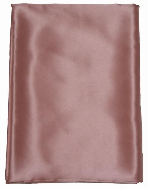 シルクサテン掛け布団カバー  ピンク 《ダブル》