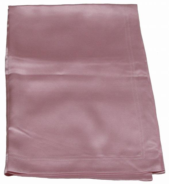 【2枚セット】【シルク100%】 シルクサテン・シーツ  ピンク 《シングル》【送料無料】【絹】【シルク100%】【高級】【抗菌】