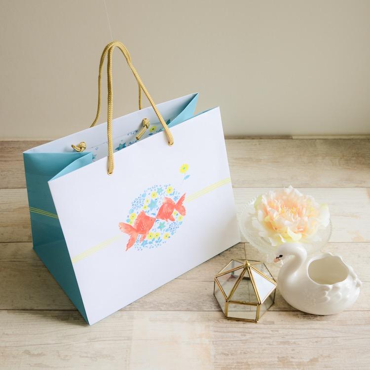 結婚式 引き出物 紙袋 【ブライダルバッグ パーティーシリーズ】中サイズ おしゃれ引き出物袋 マチ広 手提げ紙袋