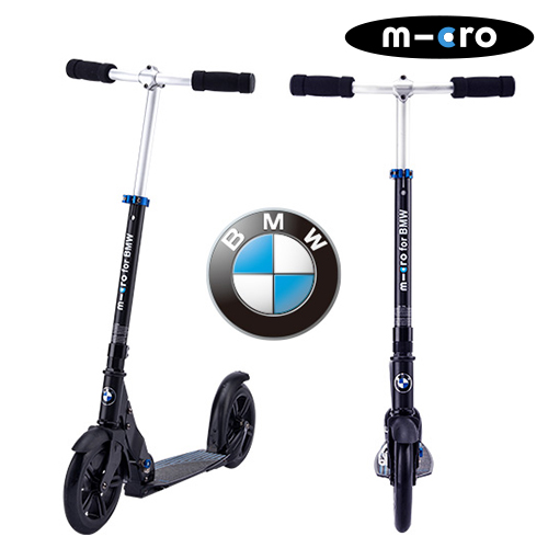 BMW City Scooter|コラボ|BMW|スイスデザイン|送料無料|正規販売|メーカ-1年保証|大人キックボード|microscooters|microscooter