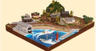 ジオラマセットC 海のある風景【トミーテック】「鉄道模型 Nゲージ TOMYTEC」