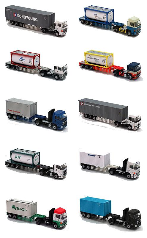 ザ・トレーラーコレクション第8弾 【トミーテック・283072】「鉄道模型 Nゲージ TOMYTEC」