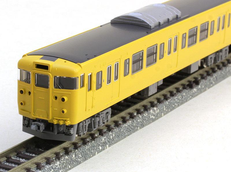 115 2000系近郊電車(JR西日本40N更新車・黄色)基本セット (4両) 【TOMIX・98286】「鉄道模型 Nゲージ トミックス」