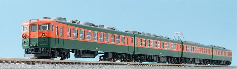 167系電車(冷改車・湘南色)基本セット (4両) 【TOMIX・98221】「鉄道模型 Nゲージ トミックス」