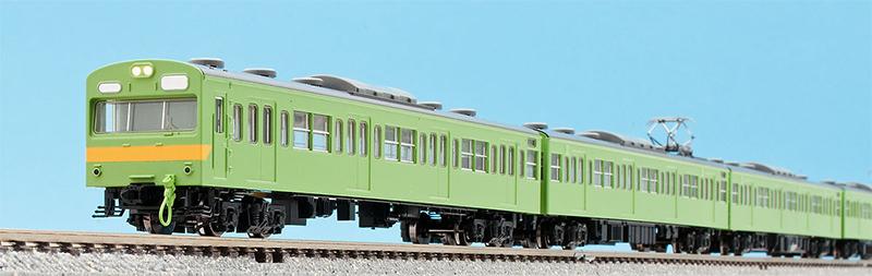 103系通勤電車(新製冷房車・関西線)基本セット (4両) 【TOMIX・98210】「鉄道模型 Nゲージ トミックス」