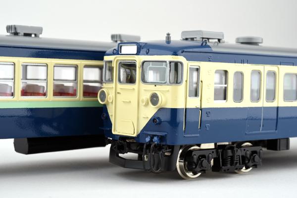 国鉄113系 初期車 非冷房 横須賀色 クハ111-0 奇数向車 【カツミ・KTM-343】「鉄道模型 HOゲージ」