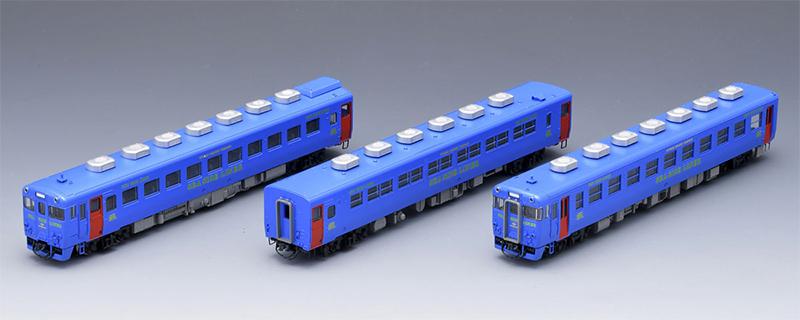 限定 キハ58系ディーゼルカー(快速シーサイドライナー・青色・キハ28-5200)セット (3両) 【TOMIX・98908】「鉄道模型 Nゲージ トミックス」