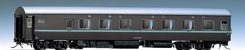 オロネ10(茶色) 【TOMIX・HO-5005】「鉄道模型 Nゲージ トミックス」
