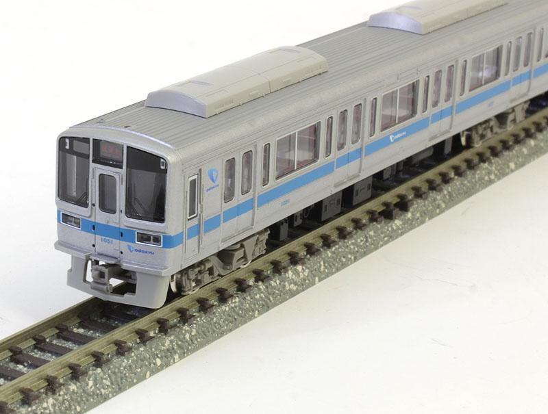 小田急1000形+クヤ31 5両編成セット(動力付き)【グリーンマックス・30593】「鉄道模型 Nゲージ GREENMAX」