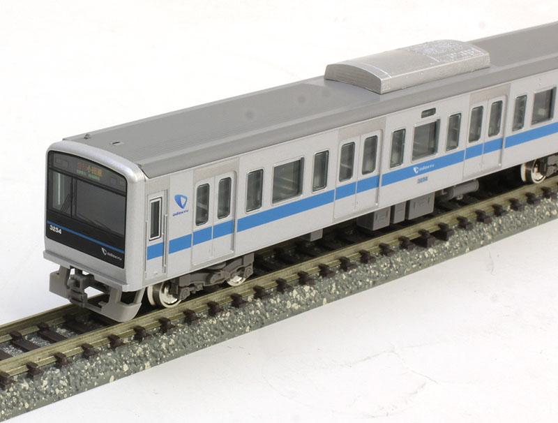 小田急3000形1次車(3253編成・前面細帯)6両編成セット(動力付き) 【グリーンマックス・30699】「鉄道模型 Nゲージ GREENMAX」