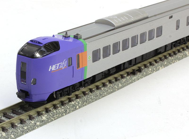 キハ261 1000系特急ディーゼルカー(HETロゴ)セット (4両)【TOMIX・98263】「鉄道模型 Nゲージ トミックス」