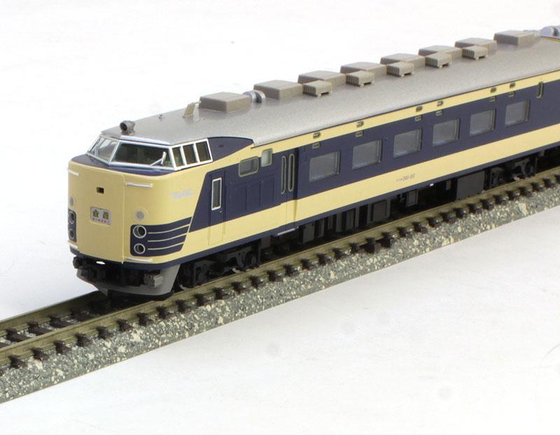 限定 583系特急電車(金星)セット (12両) 【TOMIX・98991】「鉄道模型 Nゲージ トミックス」