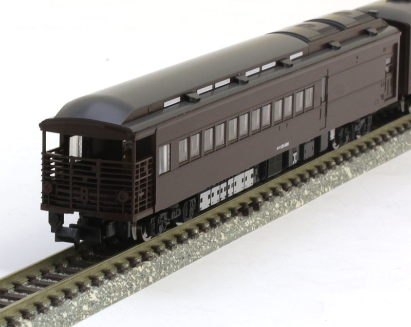 35 4000系客車(SLやまぐち号)セット (5両)【TOMIX・98279】「鉄道模型 Nゲージ トミックス」