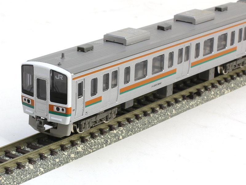 JR211系5000番台(LL編成)基本3両編成セット(動力付き) 【グリーンマックス・30686】「鉄道模型 Nゲージ GREENMAX」