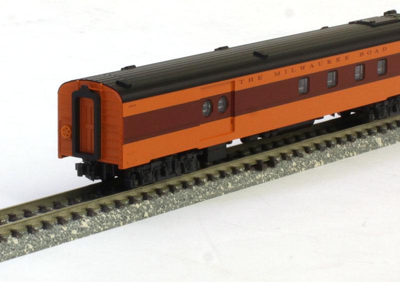 ミルウォーキーロード オリンピアン・ハイアワッサ 9両セット 【KATO・10-753-2】「鉄道模型 Nゲージ カトー」