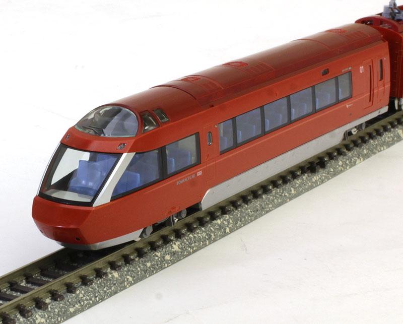 小田急ロマンスカー70000形GSE(第1編成)セット (7両)【TOMIX・98658】「鉄道模型 Nゲージ トミックス」