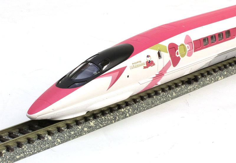 500 7000系山陽新幹線(ハローキティ新幹線)セット (8両)【TOMIX・98662】「鉄道模型 Nゲージ トミックス」