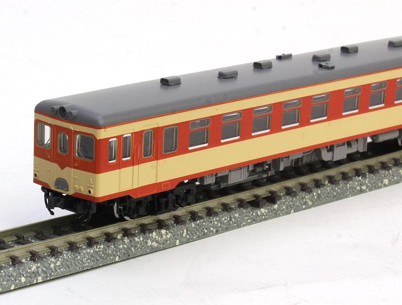キハ26形ディーゼルカー(初期急行色・バス窓)セット (2両)【TOMIX・98026】「鉄道模型 Nゲージ トミックス」